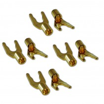 Wireworld Set of 8 Gold Spades