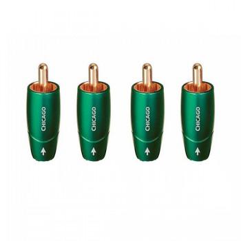 Разъемы для кабеля Audioquest Chicago RCA 4pcs