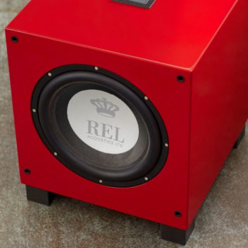 Сабвуфер REL T9i Piano Red
